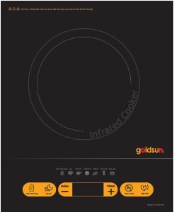 Bếp hồng ngoại Goldsun ECC GHY105