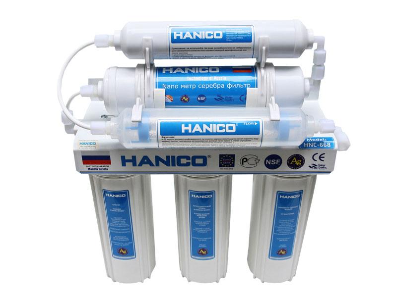 Máy lọc nước 6 cấp Hanico HNC 668