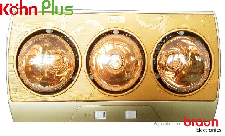Đèn sưởi nhà tắm Kohn Braun KP03G
