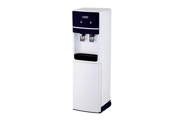 Cây nước nóng lạnh hút bình Karofi HC02W